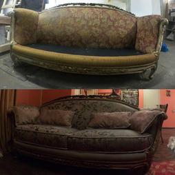 Смена обивки и ремонт дивана