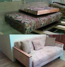 Смена обивки на диван-кровати